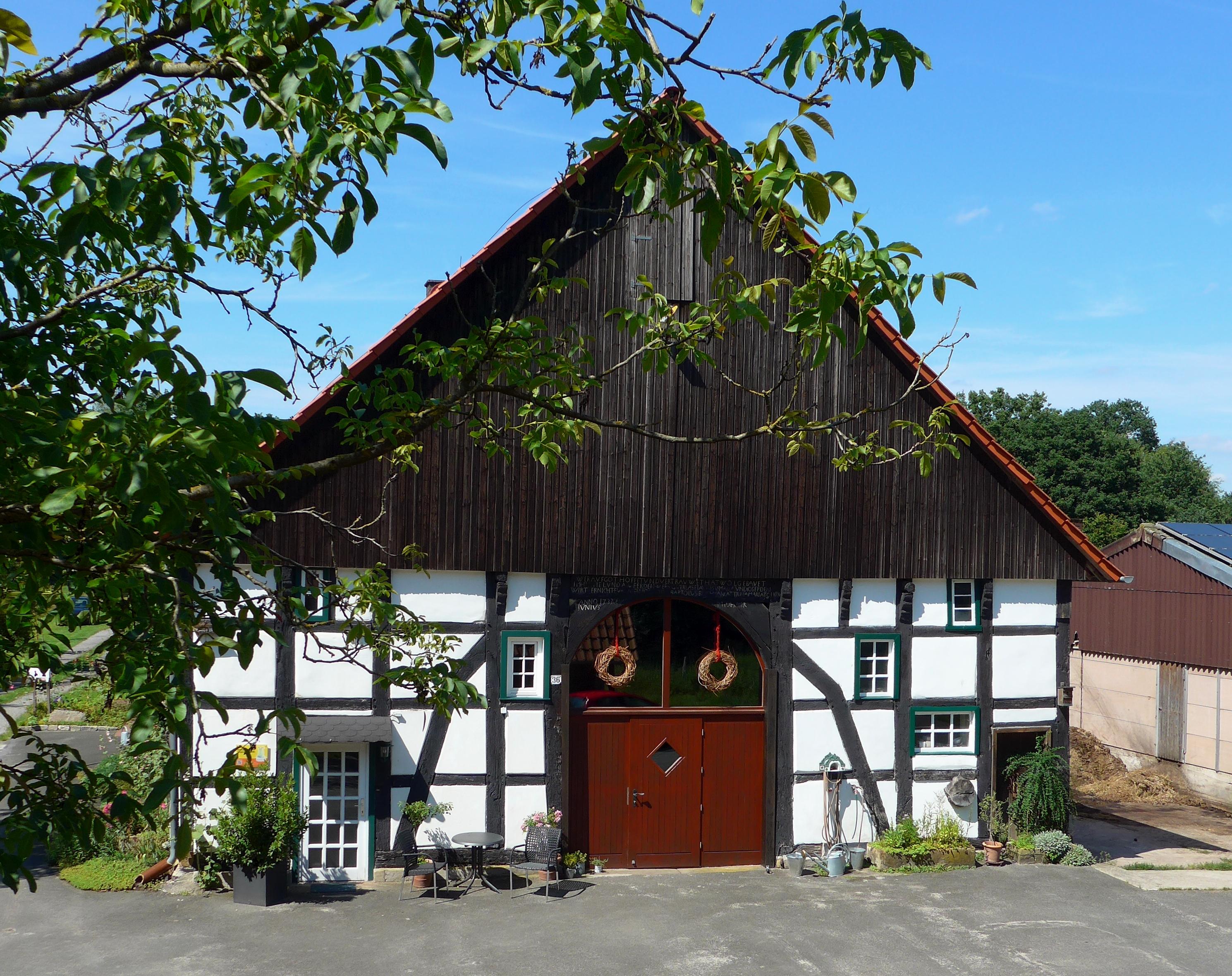 Haupthaus der Stiftung